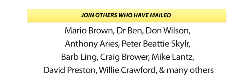 Others Who Have Mailed